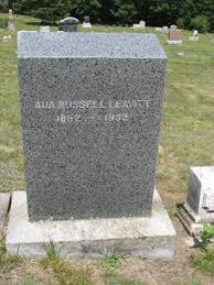 Ada Russell Leavitt (1852-1932) - Find A Grave Memorial