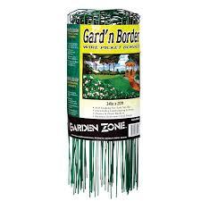 Origin Point 381420 20 Foot X 14 Inch Gard N Border Wire Picket Fence Green Walmart Com Walmart Com
