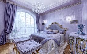 تحميل خلفيات غرفة نوم فاخرة الداخلية نوم كلاسيكية البنفسجي غرف