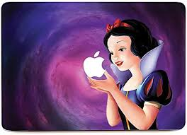 Amazon Com Kbubble Macbook Laptop Vinyl Decal Sticker Skin For Macbook M0196 Apple Of Snow White Macbook Air 13 Inches Computers Accessories