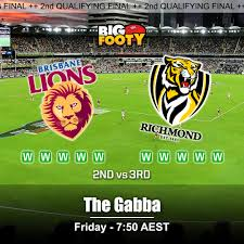Brisbane Lions vs Richmond Tigers ...