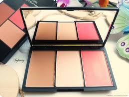 sleek face form contouring blush