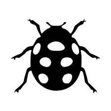 Lady Bug Decal Sticker