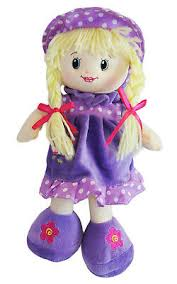 soft toy dolly xmas christening gift