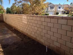 Block Wall Contractor Orange County Block Wall