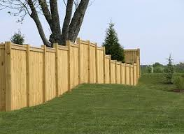 Building A Diy Fence In Your Sloped Yard Hercules Fence Virginia Beach