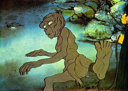 Image result for 1978 bakshi gollum