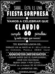 Invitacion Para Fiesta Adultos Logddwall