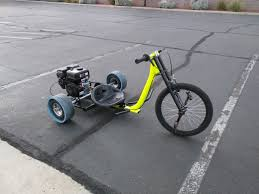 how to build a motorized drift trike
