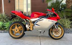 2000 MV Agusta F4 750 Serie Oro With 0 Miles – Iconic Motorbike Auctions
