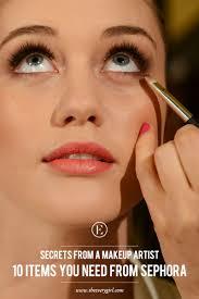 secrets from a makeup artist 10 items