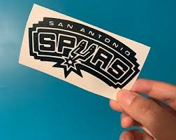 Spurs Decals Etsy