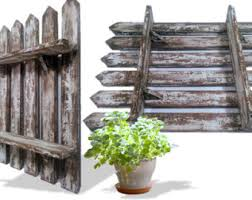 Picket Fence Shelf Etsy
