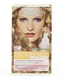 l excellence mousse hair color