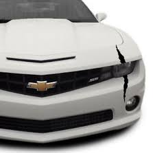 Chevrolet Camaro Headlight Scar Decal Kit Corvette Chevy V8
