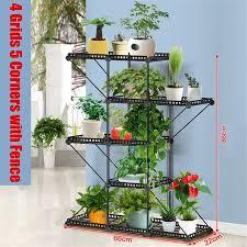 3 Size Detachable Iron Plant Stand Display Flower Pot Balcony Shelf Garden Home Walmart Canada