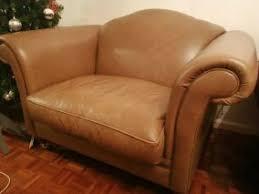 laura ashley leather sofa in