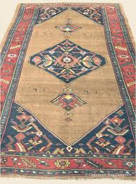 antique carpet with fl medallion