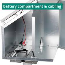 Voss Farming 12w Solar Set Anti Theft Box Mounting Post Energiser Green Energy