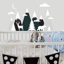 Shop Mountains Wall Decal Nursery Kids Overstock 32138125