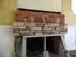 stone veneer over concrete block
