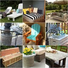 18 diy patio furniture ideas for an