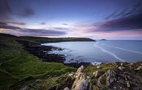 wallpaper coast ireland ireland