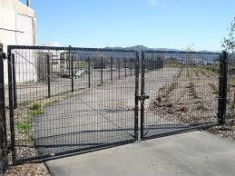 Custom Welded Wire Mesh Gate Coggins Fence