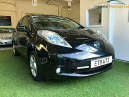 nissan leaf 24kwh auto black auto