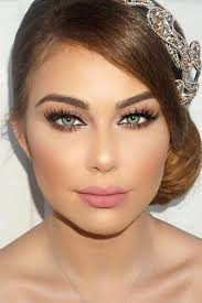 42 magnificent wedding makeup looks for