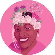 Queer Portraits in History - Marsha P. Johnson