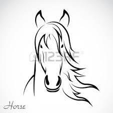 Afbeeldingsresultaat Voor Paardenhoofd Kleurplaat Paardenhoofd
