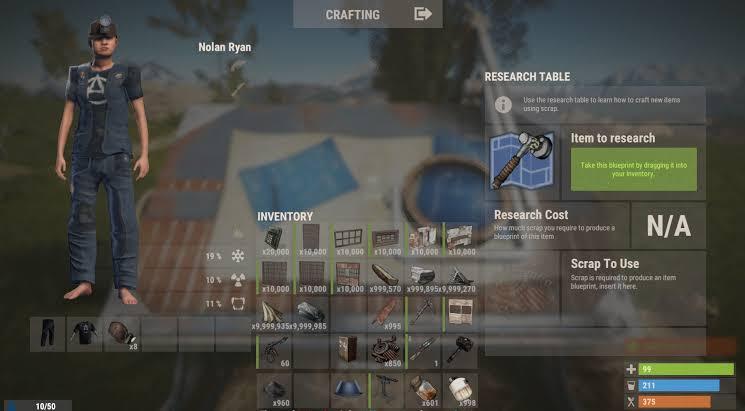 Hasil gambar untuk rust gameplay crafting hd