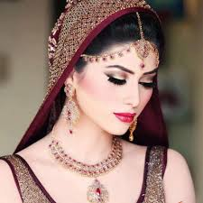 beautiful bridal eye makeup pic