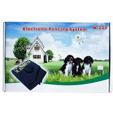 Electric Pet Dog Fence Wireless Waterproof Barrier Boundary Collar W227 Set Ebay