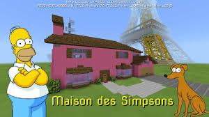 construction de la maison des simpsons