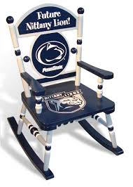 penn state university team rocking chair