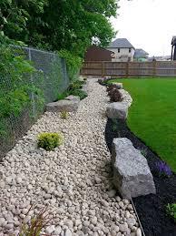 48 river rock garden ideas simple rock