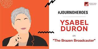 IWMF - Trailblazing Latina journalist Ysabel Duron has... | Facebook