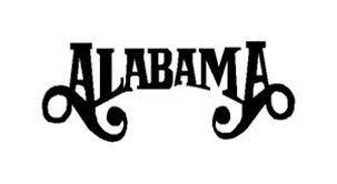 Alabama Band Logo Vinyl Decal Sticker