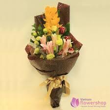 vietnam orchid flower gifts for female boss
