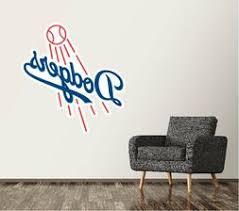 Los Angeles Dodgers Wall Decals Dodgersclub Com