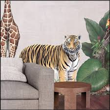 Tiger Wall Decals Jungle Wall Decals Wall Decals For Kids