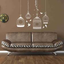 Bird Cages Wall Decal Style And Apply
