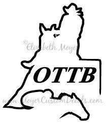 Ottb Western Barrel Racer Racing Rider Decal Sticker You Etsy Barrel Racer Ottb Thoroughbred