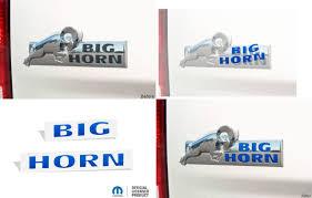 Big Horn Emblem Overlay Decals