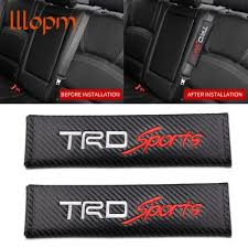 2pcs car styling seat belts covers