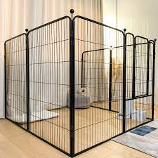Dog Dog Fence Fence Indoor Medium Small Dogs Dog Fence Isolation Door Free Combination Dog Cage Lazada Ph