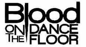Blood On The Dance Floor Band Logo Vinyl Decal Sticker