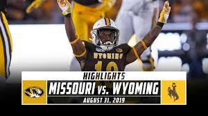 Missouri vs. Wyoming Football Highlights (2019)